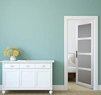 elegant bloc porte interieur enrobe blanc vitrages largeur cm poussant gauche with bloc porte 63. Black Bedroom Furniture Sets. Home Design Ideas