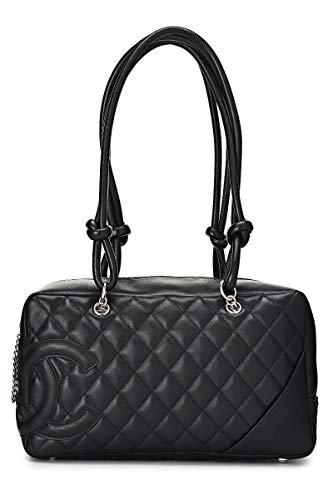 CHANEL Black Cambon Ligne Bowler (Pre-Owned)