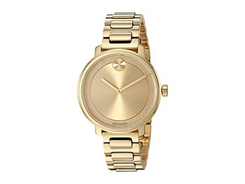Movado Women's Bold - 3600502 Yellow Gold Pvd One Size (Plated Bracelet Gold Movado)