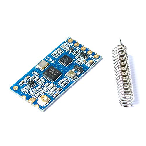 2pcs HC-12 433Mhz SI4463/SI4438 Wireless Serial Port Module 1000M Replace Bluetooth with Spring Antenna