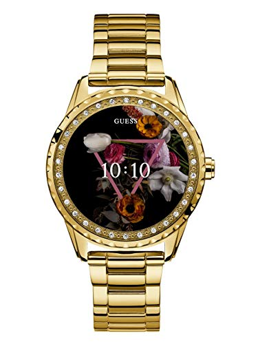 GUESS Women's Quartz Stainless Steel Watch, Color:Gold-Toned (Model: C1003L6)