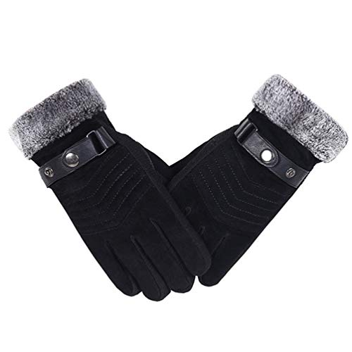 DOMREO Women Gloves Winter Warmer Mitts Full Finger Mittens Men Women Gloves Waterproof Outdoor Accessories