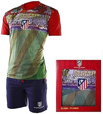 Pijama Atlético de Madrid niño estadio - 6: Amazon.es ...