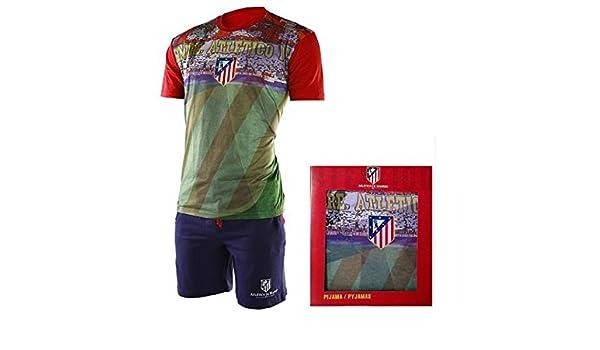 Pijama Atlético de Madrid niño estadio - 12: Amazon.es: Deportes y aire libre