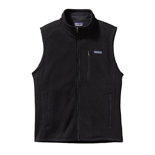 Patagonia Men's Better Sweater Vest, Black, Medium