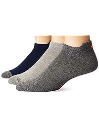 Charly 8046262 Calcetines cortos para Hombre, color Jaspe/Multicolor, Unitalla