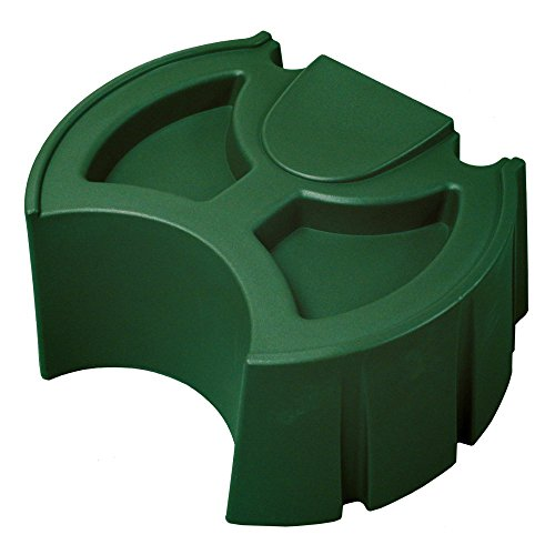 Good Ideas RW50ST-GRN Rain Wizard 50-Gallon Rain Barrel Stand, Green (Halloween Ideas)
