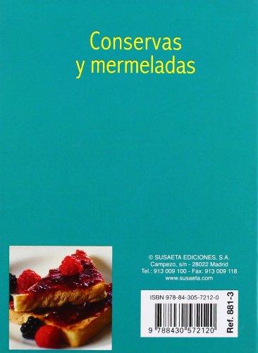 Conservas Y Mermeladas (Minibiblioteca De Cocina): Amazon.es: Equipo Susaeta: Libros