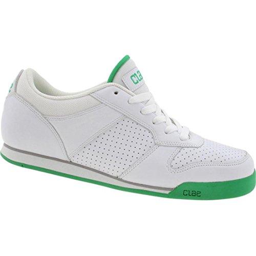 Clae Men's Blakey (white / green)-8.0