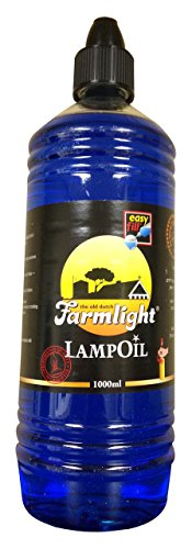 Bright Lights Blue Paraffin Lamp Oil -1 Liter (Oil Color Lamp)