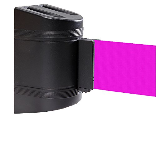 ComeAlong-Industries-Wall-Mount-Black-Magnetic-Housing-for-15-Heavy-Duty-Nylon-Belt-with-Magnetic-End-Clips-Fluorescent-Pink