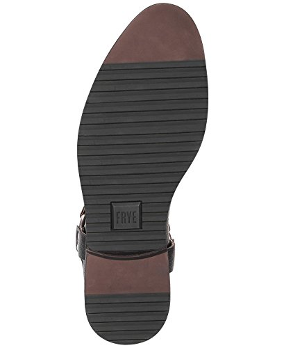 Frye Mens Scott Chelsea Sele Stövlar Svart Läder 7,5 M