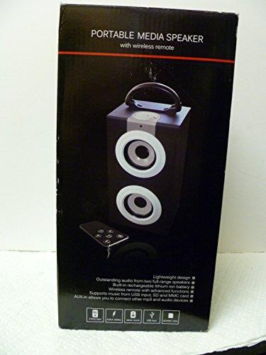 Soundlogic Portable Media Speaker Price Tracking Price