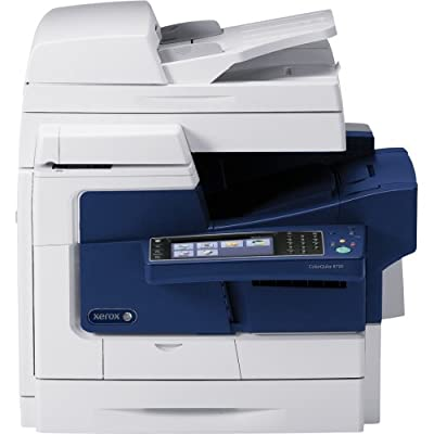 Xerox Corporation - Xerox Colorqube 8700S Solid Ink Multifunction Printer - Color - Plain Paper Print - Desktop - Copier/Printer/Scanner - 44 Ppm Mono/44 Ppm Color Print - 2400 Dpi Print - 20 Ipm Mono/20 Ipm Color Copy (Iso) - Touchscreen Lcd - 600 Dpi Op