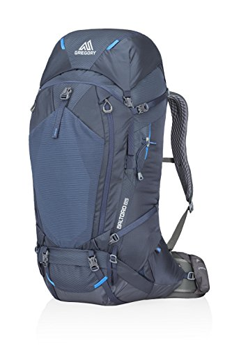 Gregory Mountain Products Baltoro 65 Liter Men's Backpack, Navy Blue, Small