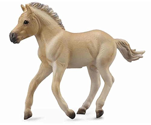 CollectA Fjord Foal, Brown Dun