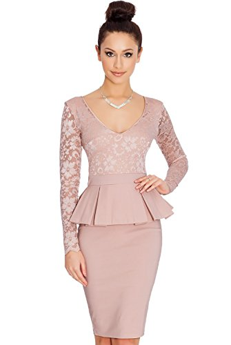 Jollychic - Vestido - Estuche - para mujer Rosa