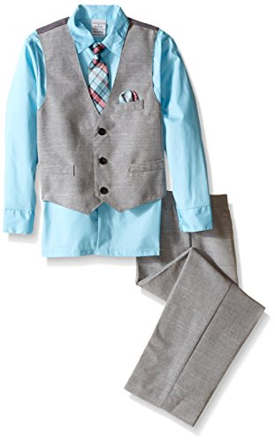 Perry Ellis Little Boys Slub