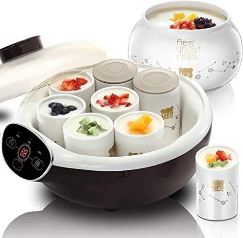 Machine de yaourt de ménage, le ménage chemise en céramique tasse de yogourt machine à machine de natto, le chauffage automatique de la température constante