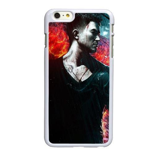 O2N39 Sleeping Dogs L6R5QR coque iPhone 6 Plus de 5,5 pouces cas de couverture de téléphone portable coque blanche RT2NFI1QT