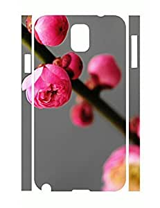 Cool Pretty Floral Slim Cell Phone Skin Case for Samsung Galaxy Note 3 N9005 Kimberly Kurzendoerfer