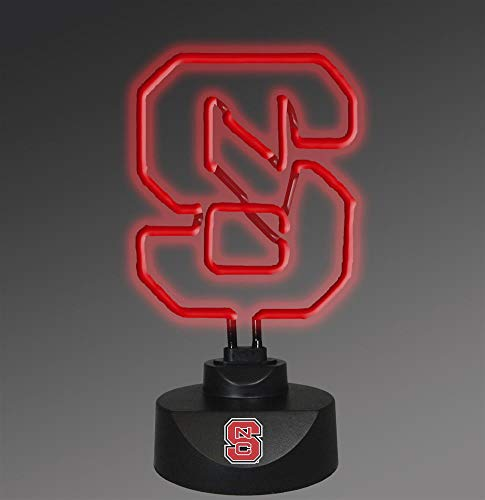 Memory Company Ncaa Lamp - Memory Company NCAA North Carolina State University Neon Lamp, One Size, Multicolor