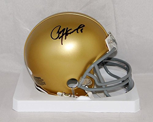 Paul Hornung Signed Notre Dame Fighting Irish Riddell Mini Helmet- W Auth - JSA Certified - Autographed College Mini Helmets