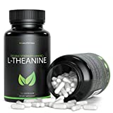 L-Theanine 200mg - 120 Count (V-Capsules) / 120 Servings; an Amino Acid Taken to Promote Relaxation Without Drowsiness and Improve Sleep Quality | Vegan, Non-GMO & Gluten Free
