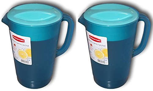 Rubbermaid Gallon Pitcher - Blue (2 Pack)