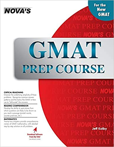 GMAT Prep Course: Jeff Kolby: 9781889057996: Amazon.com: Books