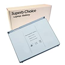"Superb Choice 6-cell Laptop Battery for Apple MacBook Pro 15"" A1260 2008 Early"