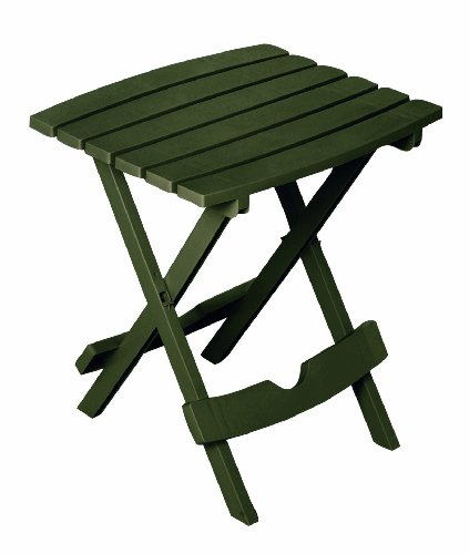 Adams Manufacturing 8500-60-3700 Plastic Quik-Fold Side Table, Earth Brown (Patio Sets Side Table Tables)