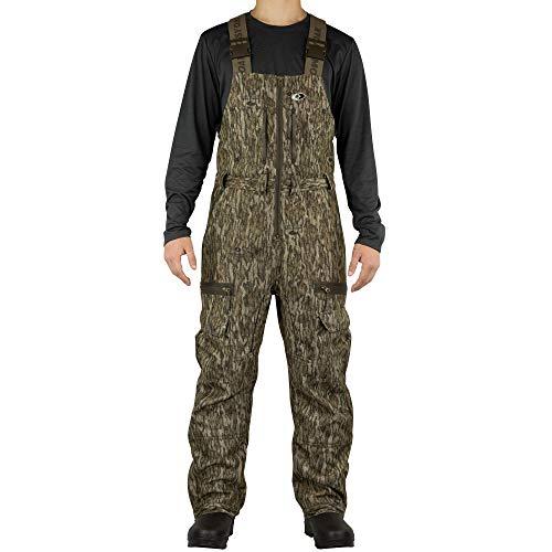MOSSY OAK Men's Camo Sherpa 2.0 Fleece Lined Hunting Bib Overalls in Multiple Patterns