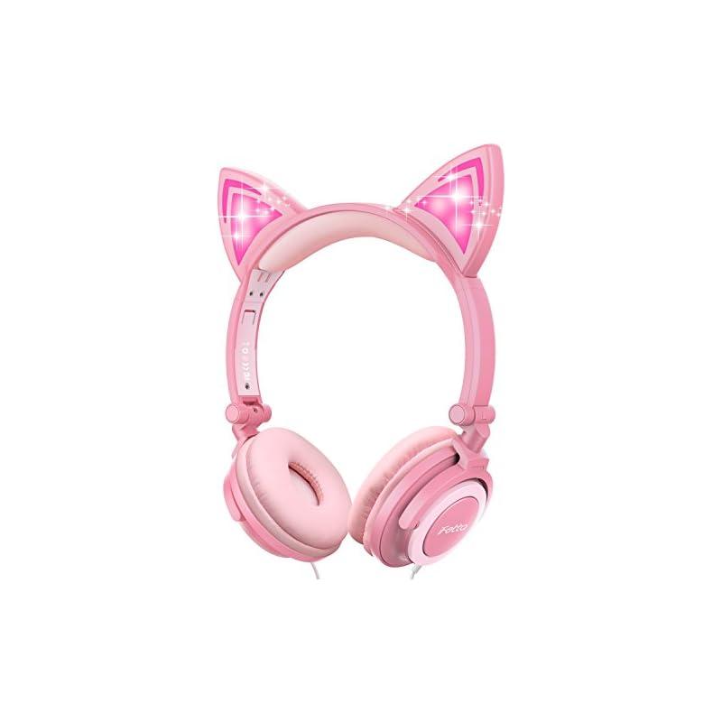 Cat Ear Headphones, Ifecco Kid Headphone