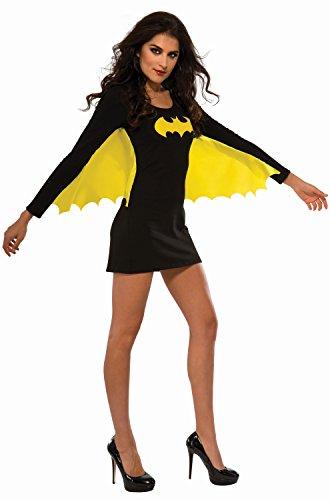 Superhero Costumes For Ladies (Rubie's Costume Co Women's DC Superheroes Batgirl Wing Dress, Multi, Medium)