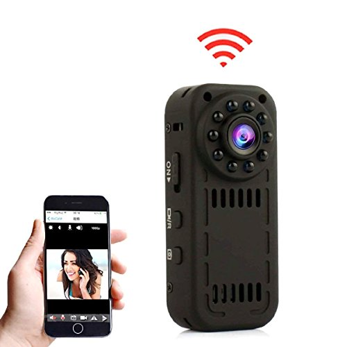 MAGENDARA Mini WiFi Camera, Mini Wireless Camera 1080P Camera with Motion Detection and Night Vision
