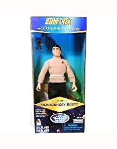 Star Trek Collector Edition 9 Lt. Commander Montgomery Scott As Seen in the 1966 Pilot Episode Where No Man Has Gone Before by Star Trek