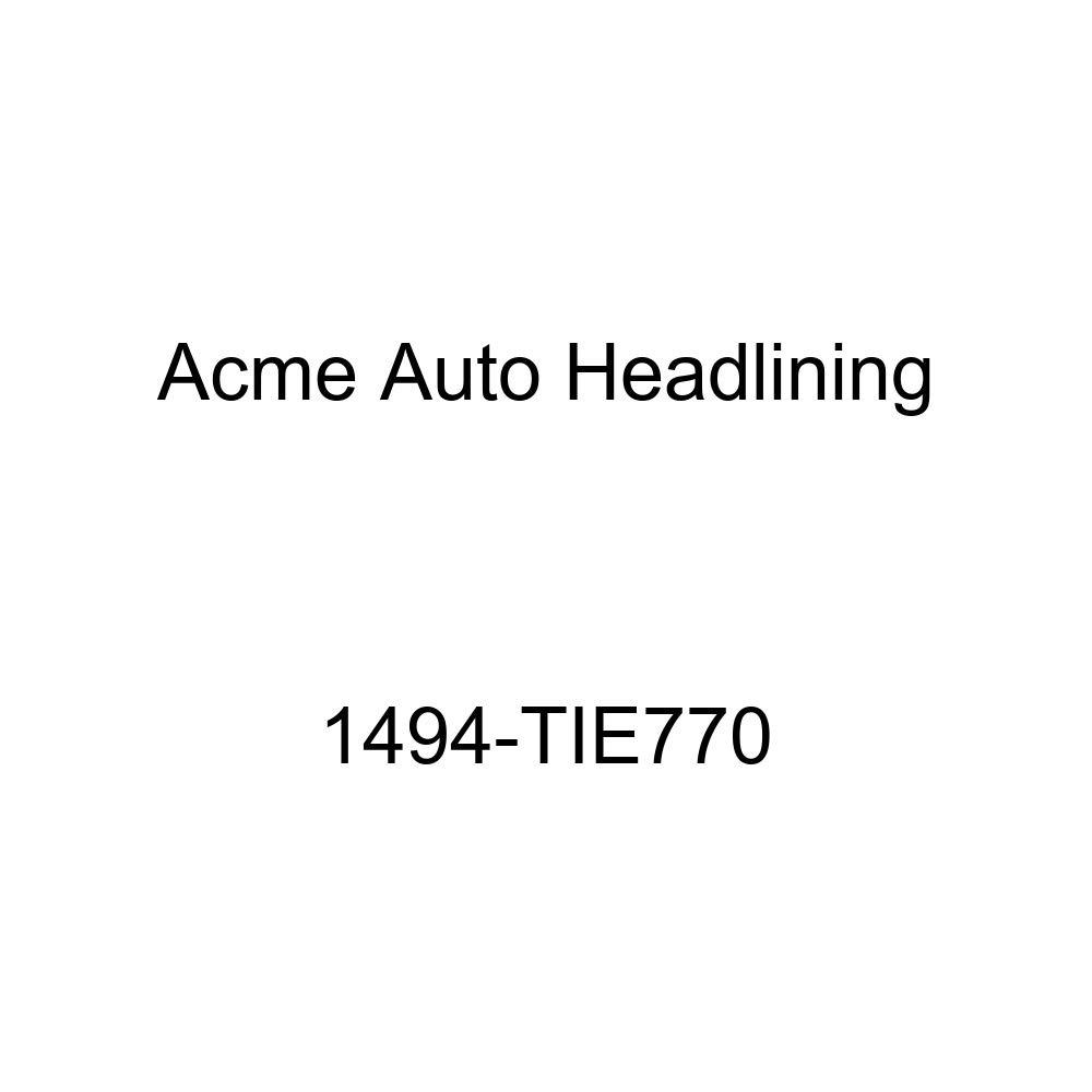 1960 Chevrolet Bel Air 4 Door Hardtop 6 Bows Acme Auto Headlining 1494-TIE770 Black Replacement Headliner