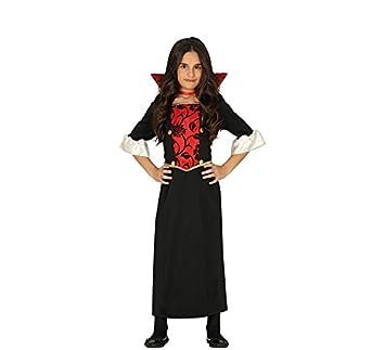 FIESTAS GUIRCA Disfraz de Vampira draculessa niña: Amazon.es ...