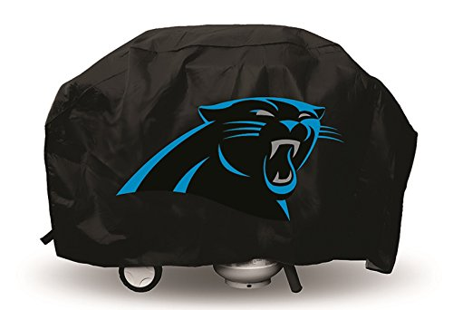 Hall of Fame Memorabilia Carolina Panthers NFL Deluxe Grill Cover with Protective Lining