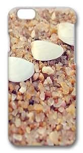 Beach shells Custom iPhone 6 Case Cover Polycarbonate 3D