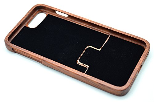 Iphone 7/8 wooden case, phantomsky[luxury series] premium quality handmade natural wood cover for your smartphone… 4 handmade natural eco-friendly wood makes the distinctive style and easy-to-use. Unique and authentic pattern makes your smartphone look more attractive. Elegant design, superior quality wood material make your smartphone and tablet stand above others!