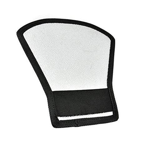 sahnah Universal DSLR Camera Flash Speedlite Diffuser Silver/White Reflector Board