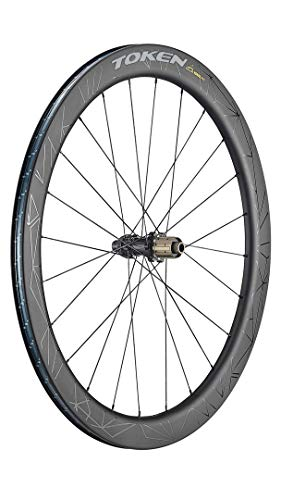 Token Products Konax Pro Disc Brake Wheels Full Carbon Tubeless or Clincher 52mm 700C Road Wheelset