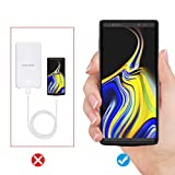 NEWDERY Upgraded Galaxy Note 9 Battery Case Qi