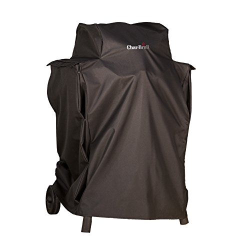 Caddie Patio Gas - Char-Broil Patio Bistro Cover, with Side Shelves