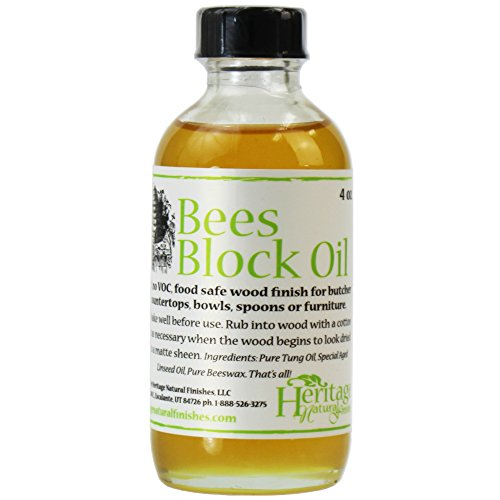 Heritage Natural Finishes – BeesBlock Oil – Non-Toxic An
