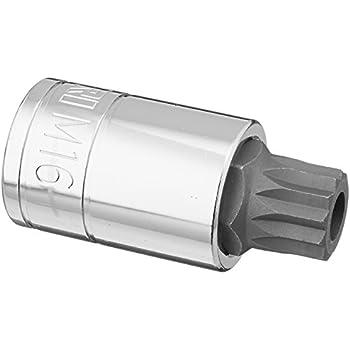 Amazon capri tools 30055 xzn 16mm triple square bit socket with capri tools 30055 xzn 16mm triple square bit socket with tamper proof 12 publicscrutiny Gallery