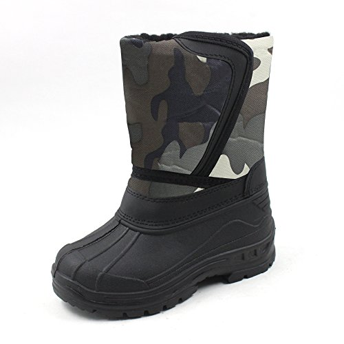 Ska-Doo Cold Weather Snow Boot 1319 Green Camo Size 3