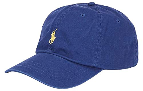 Polo Ralph Lauren - Gorra de béisbol de algodón Chino - Blue Yacht ...